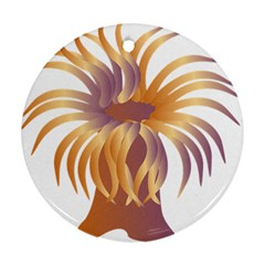 Sea Anemone Ornament (round) by Mariart