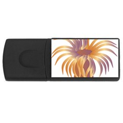 Sea Anemone Rectangular Usb Flash Drive by Mariart