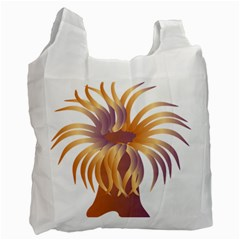Sea Anemone Recycle Bag (one Side) by Mariart