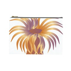 Sea Anemone Cosmetic Bag (large)  by Mariart