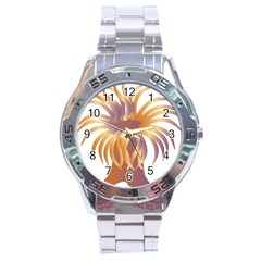 Sea Anemone Stainless Steel Analogue Watch by Mariart