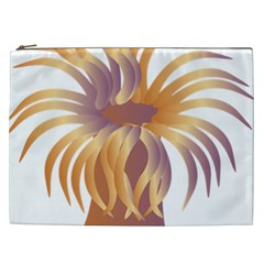 Sea Anemone Cosmetic Bag (xxl)  by Mariart