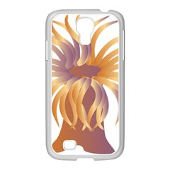 Sea Anemone Samsung Galaxy S4 I9500/ I9505 Case (white) by Mariart