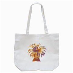 Sea Anemone Tote Bag (white) by Mariart