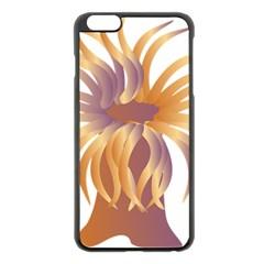 Sea Anemone Apple Iphone 6 Plus/6s Plus Black Enamel Case by Mariart