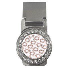 Pattern Flower Floral Star Circle Love Valentine Heart Pink Red Folk Money Clips (cz)  by Mariart