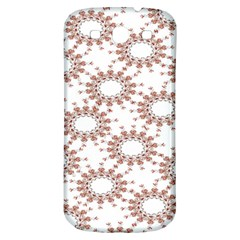 Pattern Flower Floral Star Circle Love Valentine Heart Pink Red Folk Samsung Galaxy S3 S Iii Classic Hardshell Back Case by Mariart