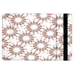 Pattern Flower Floral Star Circle Love Valentine Heart Pink Red Folk Ipad Air Flip by Mariart