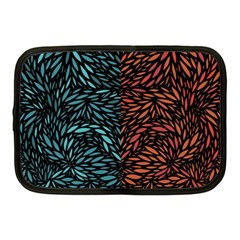 Square Pheonix Blue Orange Red Netbook Case (medium)  by Mariart