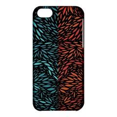 Square Pheonix Blue Orange Red Apple Iphone 5c Hardshell Case by Mariart