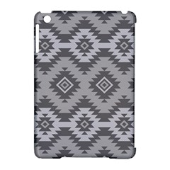 Triangle Wave Chevron Grey Sign Star Apple Ipad Mini Hardshell Case (compatible With Smart Cover) by Mariart