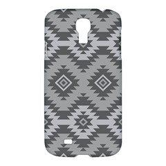 Triangle Wave Chevron Grey Sign Star Samsung Galaxy S4 I9500/i9505 Hardshell Case by Mariart