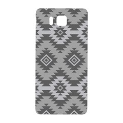 Triangle Wave Chevron Grey Sign Star Samsung Galaxy Alpha Hardshell Back Case by Mariart