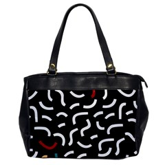 Toucan White Bluered Office Handbags by Mariart