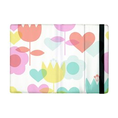 Tulip Lotus Sunflower Flower Floral Staer Love Pink Red Blue Green Ipad Mini 2 Flip Cases by Mariart