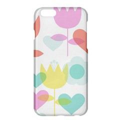 Tulip Lotus Sunflower Flower Floral Staer Love Pink Red Blue Green Apple Iphone 6 Plus/6s Plus Hardshell Case by Mariart