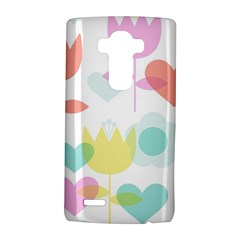 Tulip Lotus Sunflower Flower Floral Staer Love Pink Red Blue Green Lg G4 Hardshell Case by Mariart