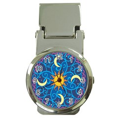 Sun Moon Star Space Vector Clipart Money Clip Watches by Mariart