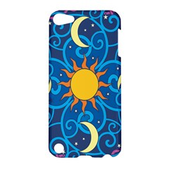 Sun Moon Star Space Vector Clipart Apple Ipod Touch 5 Hardshell Case by Mariart