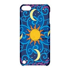 Sun Moon Star Space Vector Clipart Apple Ipod Touch 5 Hardshell Case With Stand by Mariart
