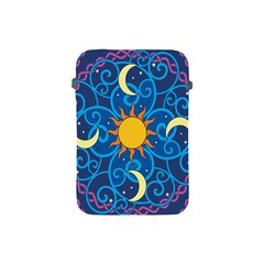Sun Moon Star Space Vector Clipart Apple Ipad Mini Protective Soft Cases by Mariart