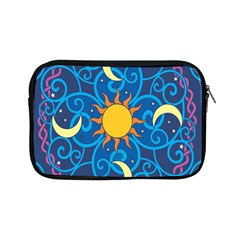 Sun Moon Star Space Vector Clipart Apple Ipad Mini Zipper Cases by Mariart