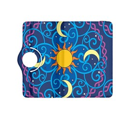 Sun Moon Star Space Vector Clipart Kindle Fire Hdx 8 9  Flip 360 Case by Mariart