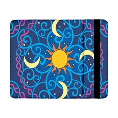 Sun Moon Star Space Vector Clipart Samsung Galaxy Tab Pro 8 4  Flip Case by Mariart
