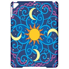 Sun Moon Star Space Vector Clipart Apple Ipad Pro 9 7   Hardshell Case by Mariart