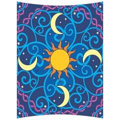 Sun Moon Star Space Vector Clipart Back Support Cushion