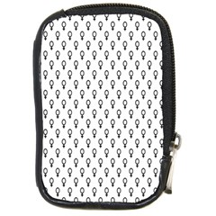 Woman Sign Circle Black Compact Camera Cases by Mariart