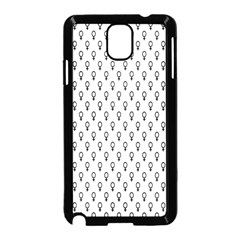 Woman Sign Circle Black Samsung Galaxy Note 3 Neo Hardshell Case (black) by Mariart