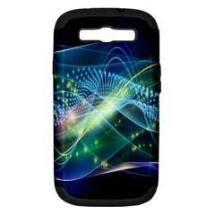 Waveslight Chevron Line Net Blue Samsung Galaxy S Iii Hardshell Case (pc+silicone) by Mariart