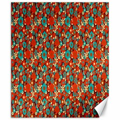 Surface Patterns Bright Flower Floral Sunflower Canvas 20  X 24   by Mariart