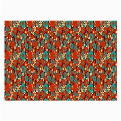 Surface Patterns Bright Flower Floral Sunflower Large Glasses Cloth (2 Side) by Mariart