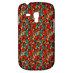Surface Patterns Bright Flower Floral Sunflower Galaxy S3 Mini by Mariart