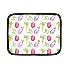 Vegetable Pattern Carrot Netbook Case (small)  by Mariart