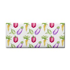 Vegetable Pattern Carrot Cosmetic Storage Cases by Mariart
