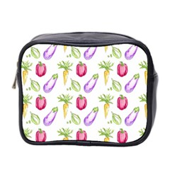Vegetable Pattern Carrot Mini Toiletries Bag 2 Side