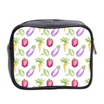 Vegetable Pattern Carrot Mini Toiletries Bag 2-Side Back