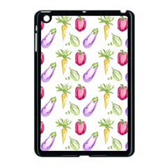 Vegetable Pattern Carrot Apple Ipad Mini Case (black) by Mariart
