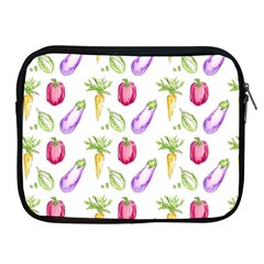 Vegetable Pattern Carrot Apple Ipad 2/3/4 Zipper Cases by Mariart