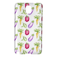 Vegetable Pattern Carrot Samsung Galaxy Note 3 N9005 Hardshell Case by Mariart