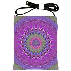 Art Mandala Design Ornament Flower Shoulder Sling Bags by BangZart