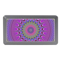 Art Mandala Design Ornament Flower Memory Card Reader (mini)