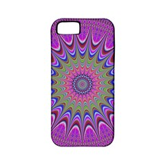 Art Mandala Design Ornament Flower Apple Iphone 5 Classic Hardshell Case (pc+silicone) by BangZart