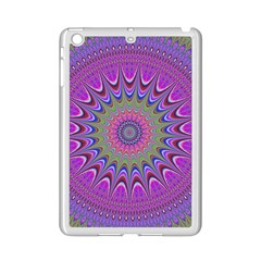Art Mandala Design Ornament Flower Ipad Mini 2 Enamel Coated Cases by BangZart