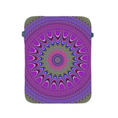 Art Mandala Design Ornament Flower Apple Ipad 2/3/4 Protective Soft Cases