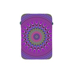 Art Mandala Design Ornament Flower Apple Ipad Mini Protective Soft Cases by BangZart
