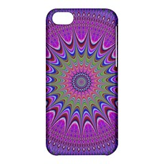 Art Mandala Design Ornament Flower Apple Iphone 5c Hardshell Case